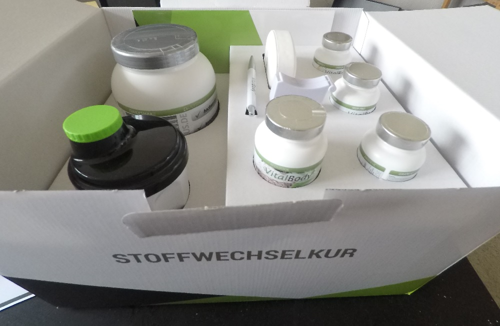 Stoffwechselkur Paket