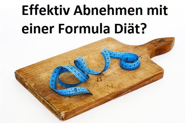Gesund Abnehmen mit der Formula Diät