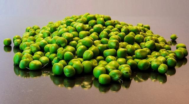 Sehr vitaminreich und gesund - Erbsenprotein