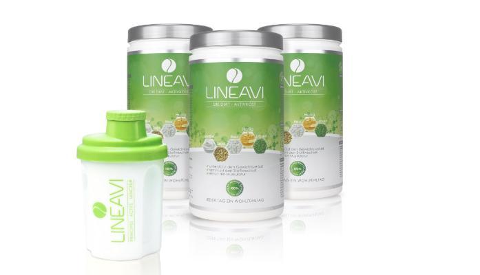 Lineavi Diat Shake Gesund Abnehme Durch Hochwertige Inhaltsstoffe