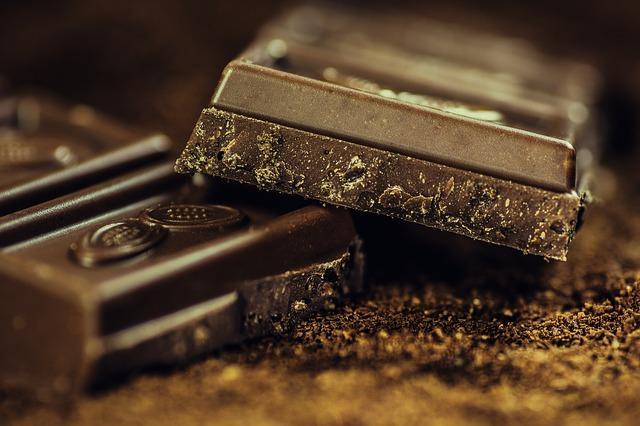 Schwarze Schokolade in der Schokoladendiät