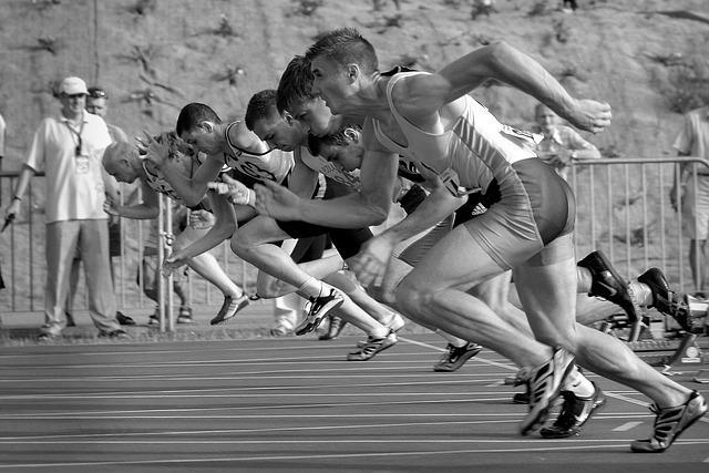 Intervalltraining durch Sprinten aktiviert den Stoffwechsel