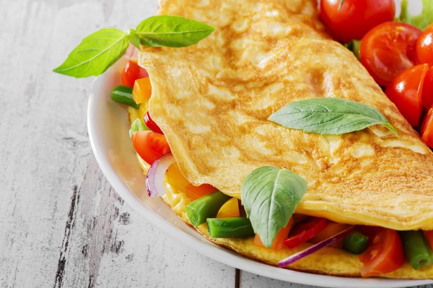 Diätplan Frühstücl: Power Eier Omelett