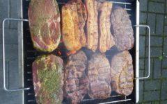 Steak Diät: Schweinesteak auf dem Grill